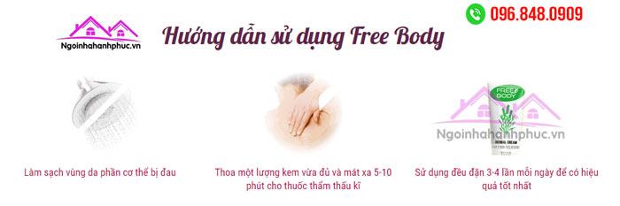 Hướng dẫn sử dụng Free Body