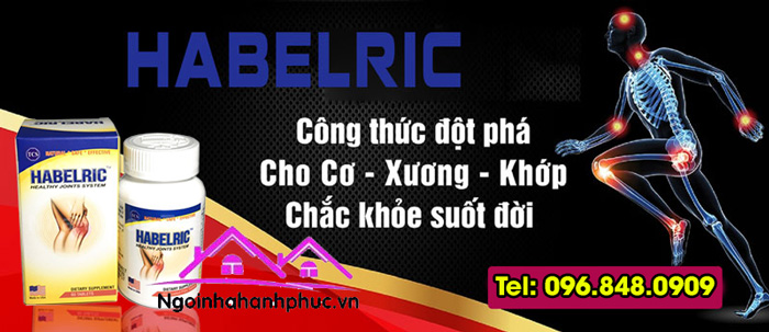 Công dụng Habelric