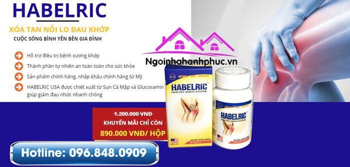 Công dụng Habelric