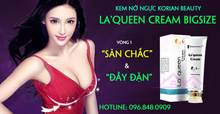 Korian Beauty La'Queen Cream Bigsize