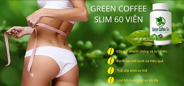 Viên uống giảm cân nhanh chóng Green Coffee Slim