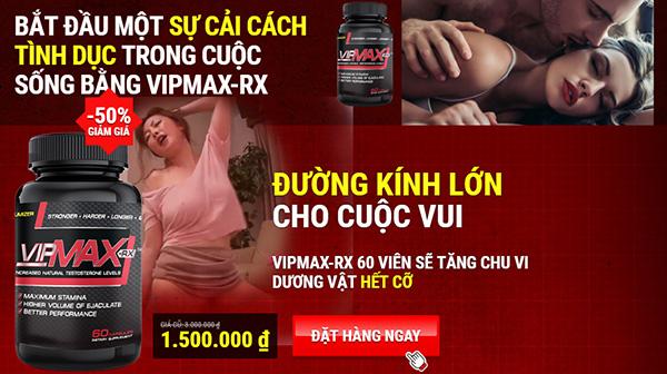 Viên uống hỗ trợ điều trị xuất tinh sớm vipmax-rx