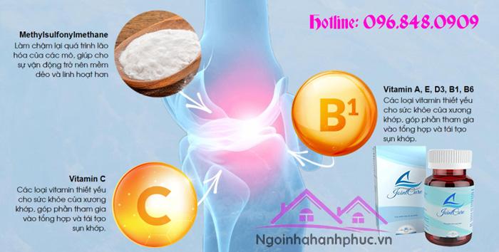Thành phần Joint Cure